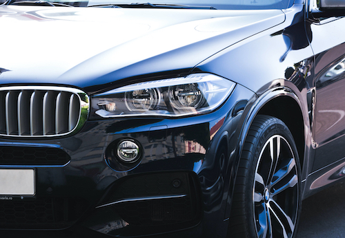 BMW Front Of Car