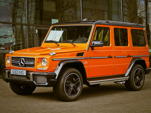 Orange G Wagon